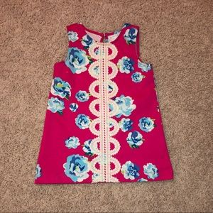 Mud Pie floral and lace summer dress 12-18 months